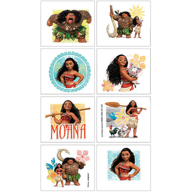 Moana Temporary Tattoo Favours