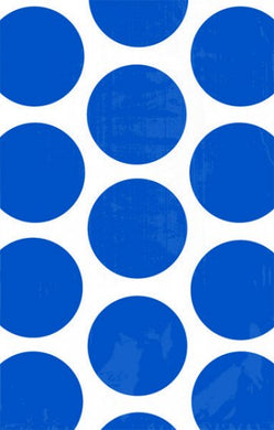 Polka Dot Bright Royal Blue Paper Favour Bags