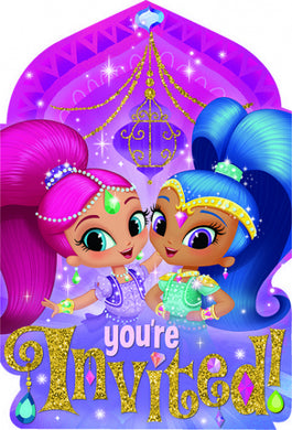 Shimmer & Shine Invitations