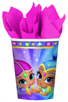 Shimmer & Shine Paper Party Cups