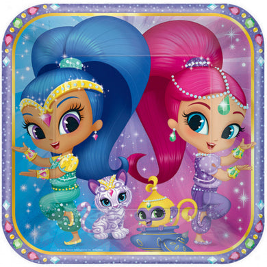 Shimmer & Shine Lunch Plates