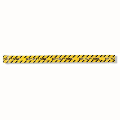 Construction Zone Warning Tape