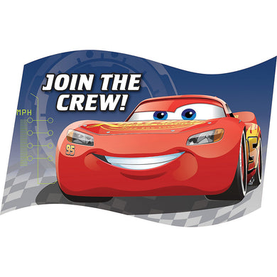 Cars Lightning McQueen Invitations