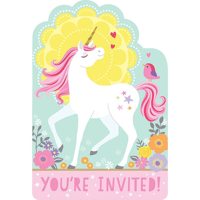 Magical Unicorn Invitations