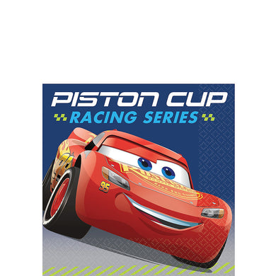 Cars Lightning McQueen Beverage Napkins