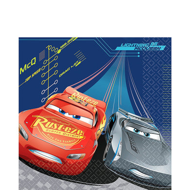 Cars Lightning McQueen Lunch Napkins