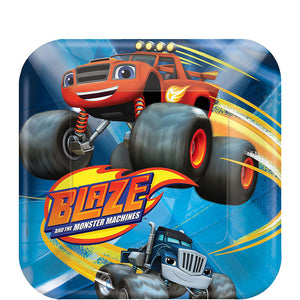 Blaze & the Monster Machines Cake Plates
