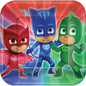 PJ Masks Lunch Plates