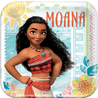 Moana Lunch Plates