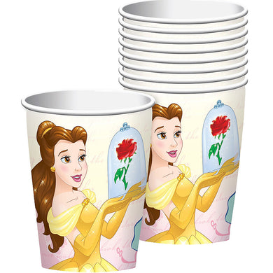 Beauty & the Beast Paper Party Cups