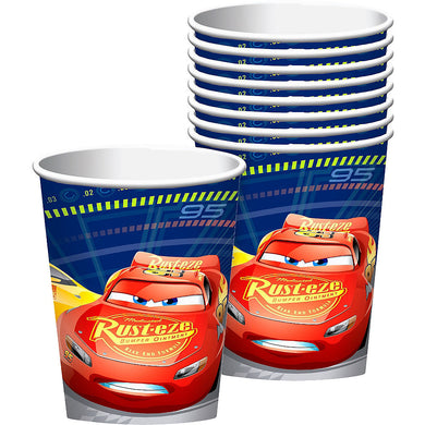 Cars Lightning McQueen Paper Party Cups