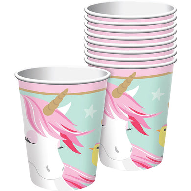 Magical Unicorn Paper Party Cups