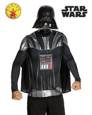 Darth Vader Classic Costume Top & Mask, Adult
