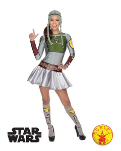 Boba Fett Female Dress, Adult