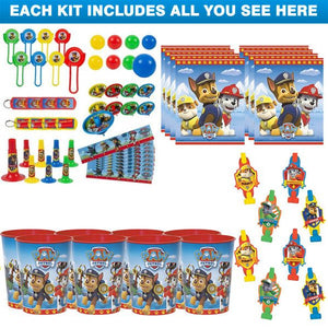 Paw Patrol Licensed Favour Kit (For 8 Guests)