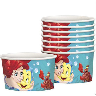 The Little Mermaid Ice Cream Treat Cups