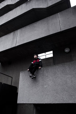 Parkour Freerunning Clothing Streetwear Adapt To Overcome ATO Long Track Jacket