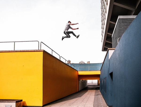Jordan Tyler Lea Parkour Freerunning Athlete