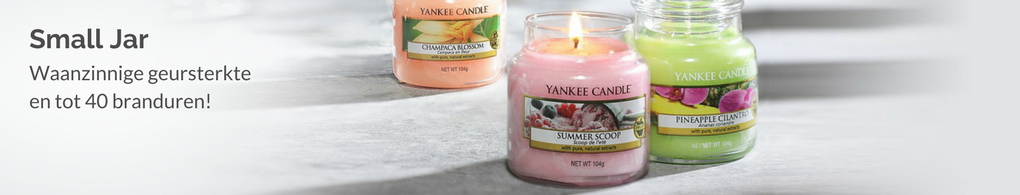 Yankee Candle Small Jar Geurkaarsen