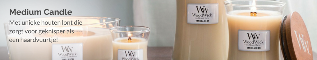 WoodWick Medium Candle