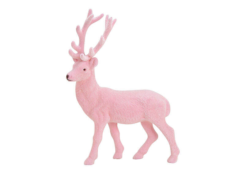 Pink Deer Decorative Accessorie