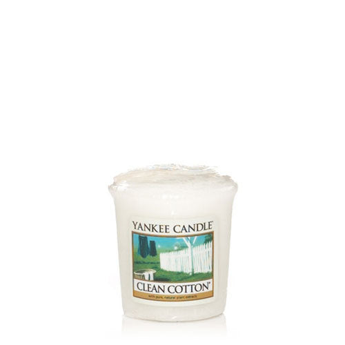 Yankee Candle Clean Cotton Votive Geurkaars