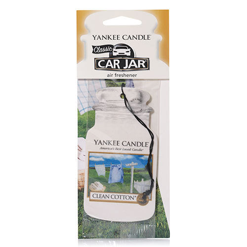 Yankee Candle Clean Cotton Car Jar Classic Airfreshner