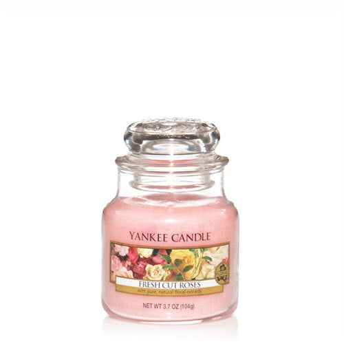 Yankee Candle Fresh Cut Roses Small Jar Geurkaars