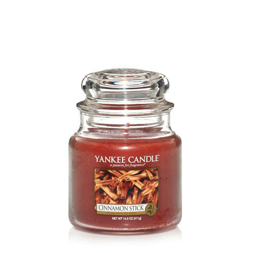 Yankee Candle Cinnamon Stick Medium Jar Geurkaars