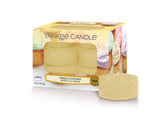 Yankee Candle Vanilla Cupcake Tea Lights