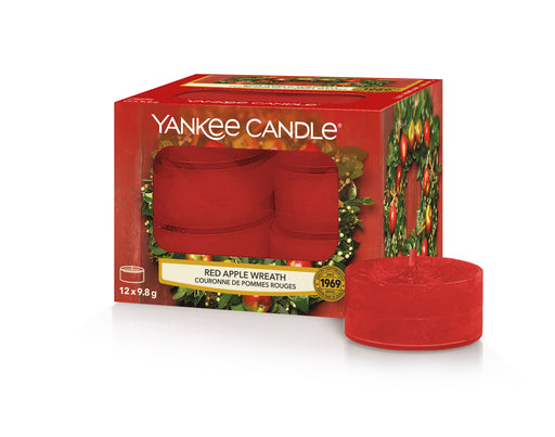 Yankee Candle Red Apple Wreath Tea Lights
