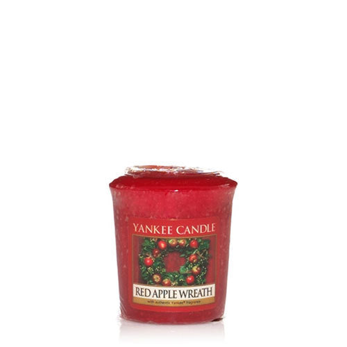 Yankee Candle Red Apple Wreath Votive Candle