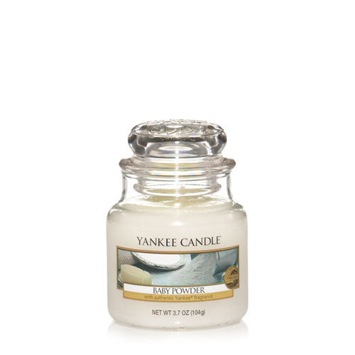 Yankee Candle Baby Powder Small Jar Geurkaars