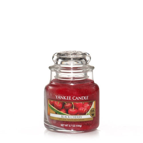 Yankee Candle Black Cherry Small Jar Geurkaars