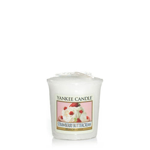 Yankee Candle Strawberry Buttercream Votive Geurkaars