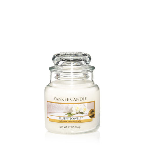 Yankee Candle Fluffy Towels Small Jar Geurkaars