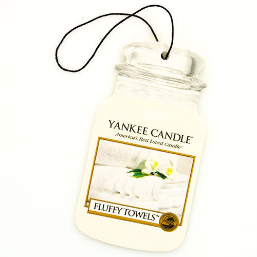 Yankee Candle Fluffy Towels Car Jar Classic Luchtverfrisser