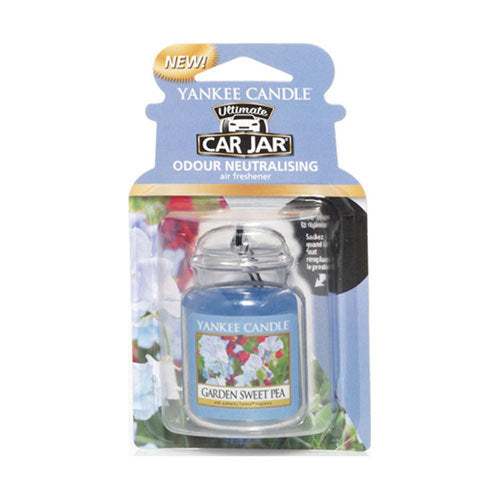 Yankee Candle Garden Sweet Pea Car Jar Ultimate Luchtverfrisser