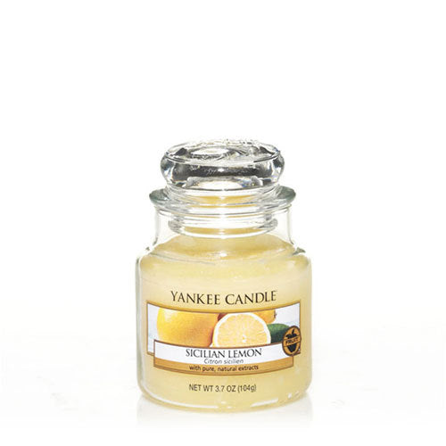 Yankee Candle Sicilian Lemon Small Jar Geurkaars