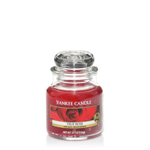 Yankee Candle True Rose Small Jar Geurkaars
