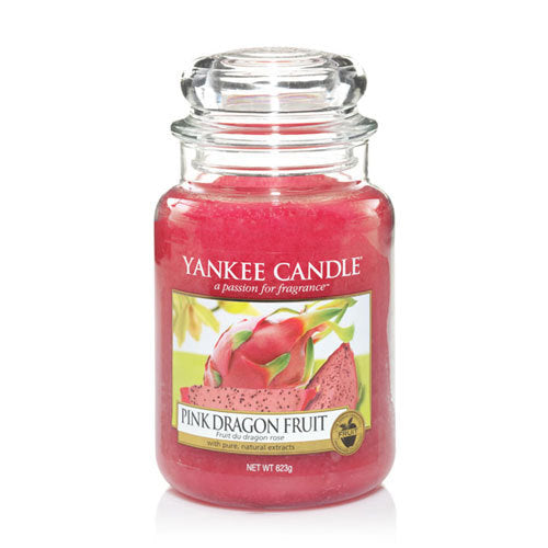 Yankee Candle Pink Dragon Fruit Large Jar Geurkaars