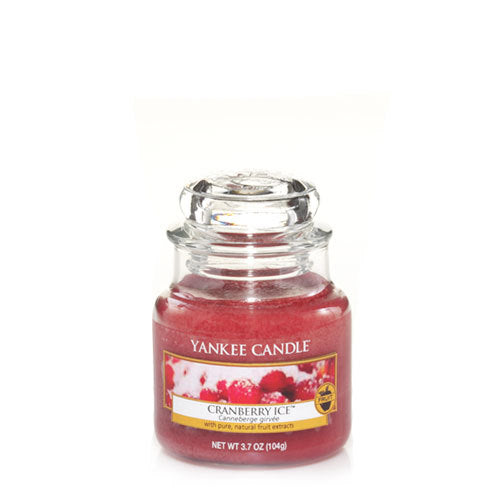 Yankee Candle Cranberry Ice Small Jar Geurkaars