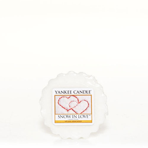 Yankee Candle Snow in Love Wax Tart Geurkaars