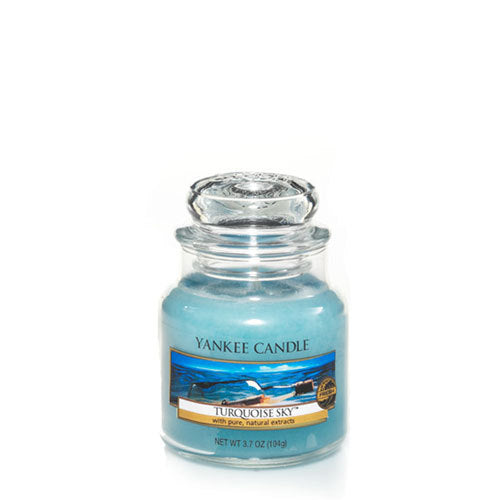 Yankee Candle Turquoise Sky Small Jar Geurkaars