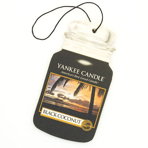 Yankee Candle Black Coconut Car Jar Classic Luchtverfrisser
