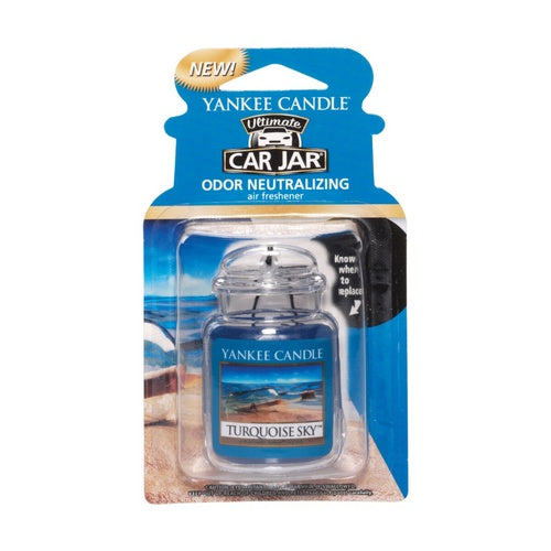 Yankee Candle Turquoise Sky Car Jar Ultimate Luchtverfrisser