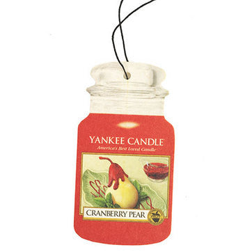 Yankee Candle Cranberry Pear Car Jar Classic Luchtverfrisser