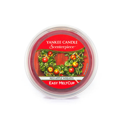 Yankee Candle Red Apple Wreath Scenterpiece Melt Cup