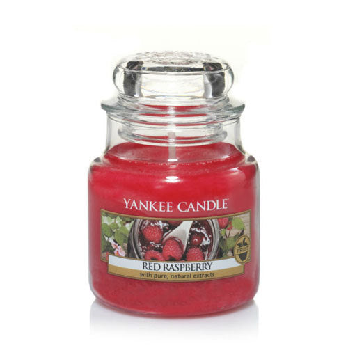 Yankee Candle Red Raspberry Small Jar Geurkaars