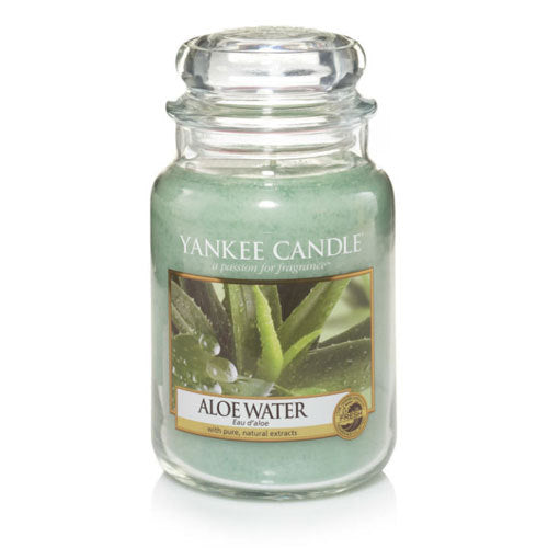 Yankee Candle Aloe Water Large Jar Geurkaars